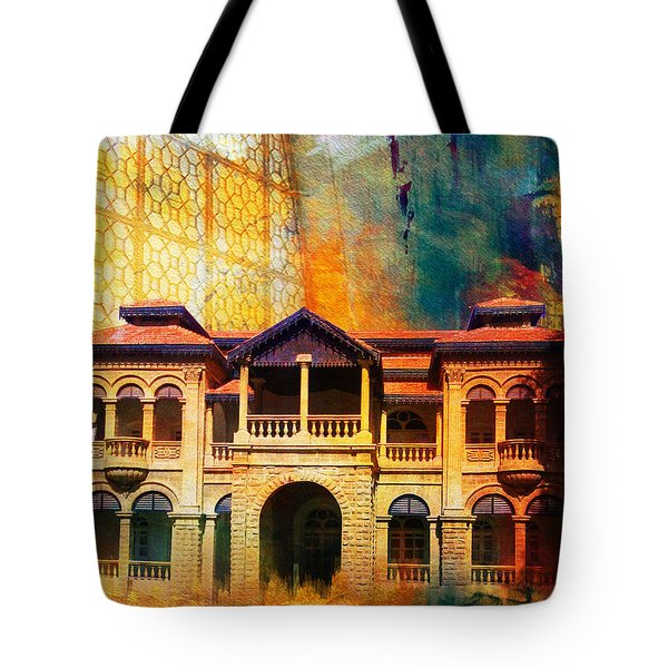 Quaid -e Azam House Flag Staff House Tote Bag by Catf