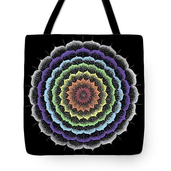 Quan Yin's Healing Tote Bag by Keiko Katsuta