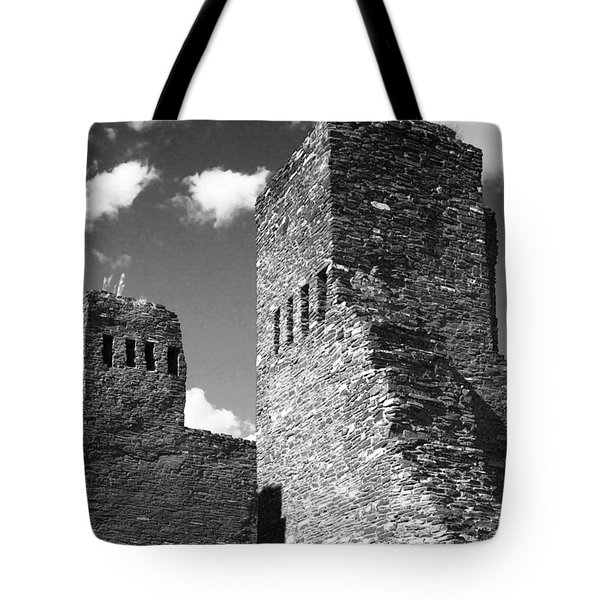 Quarai at Salinas Pueblos Mission NM Tote Bag by Christine Till