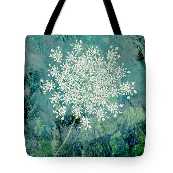 Queen Anne's Lace  Tote Bag by Ann Powell