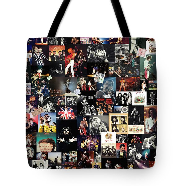 Queen Collage Tote Bag by Taylan Soyturk