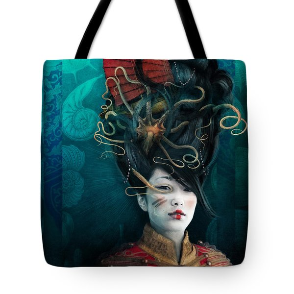 Queen Of The Wild Frontier Tote Bag by Aimee Stewart