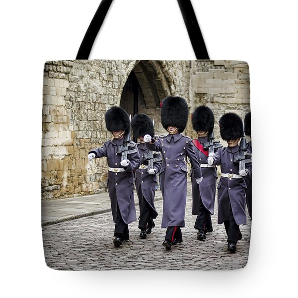 Queens Guard Tote Bag by Heather Applegate
