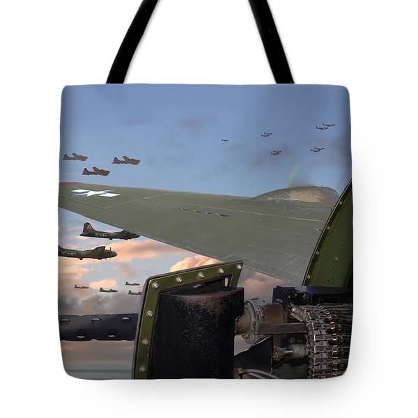 Quiet before the Storm Tote Bag by Pat Speirs
