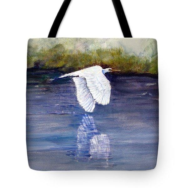 Quiet Flight Tote Bag by Loretta Luglio