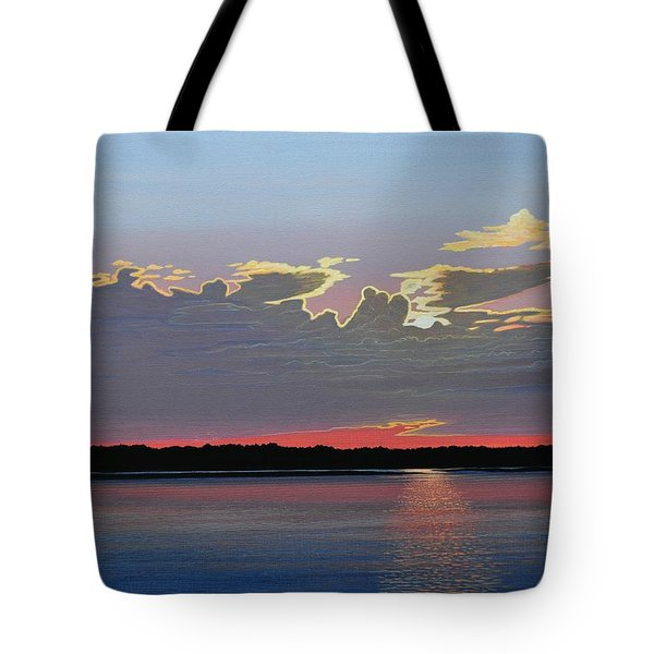Quiet Reflection II Tote Bag by Kenneth M  Kirsch