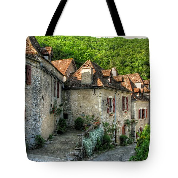 Quiet Village Life Tote Bag by Douglas J Fisher