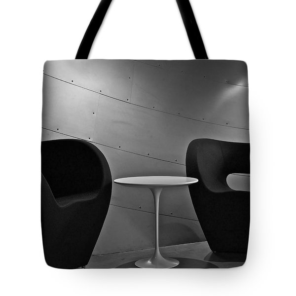 Quiet Zone Tote Bag by Linda Bianic