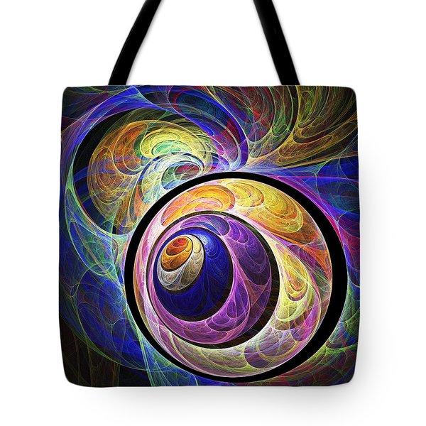 Quizzical Tote Bag by Anastasiya Malakhova