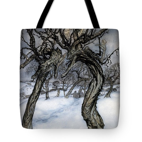 Rackham: Whisper Trees Tote Bag by Granger