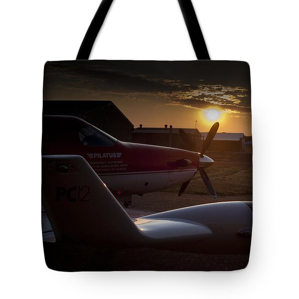 Radar Wing Tote Bag by Paul Job
