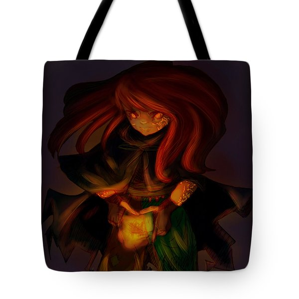 Radiating Light - Original Artwork by Amy Manley  Tote Bag by Gina Lee Manley