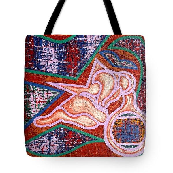 Rage Tote Bag by Patrick J Murphy