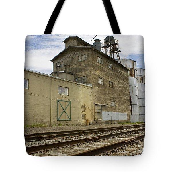 Railway Mill Tote Bag by Sonya Lang