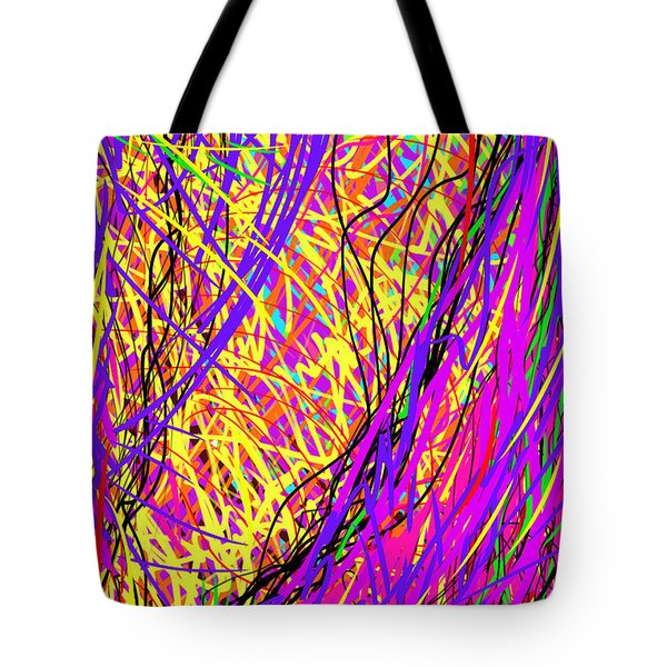 Rainbow Divine Fire Light Tote Bag by Daina White