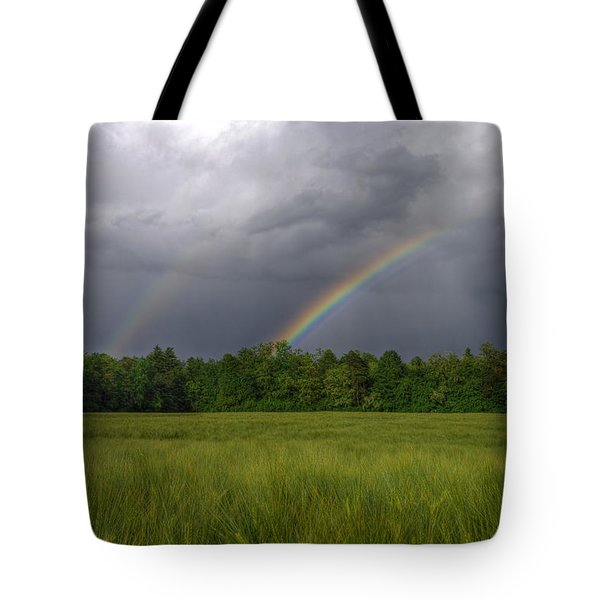 Rainbow Tote Bag by Ivan Slosar