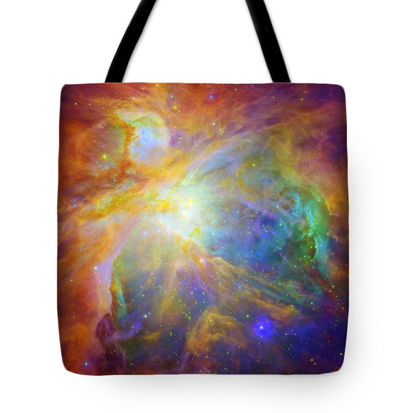 Rainbow Orion Tote Bag by Georgia Fowler