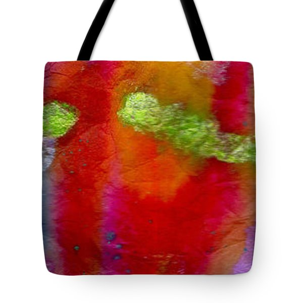 Rainbow Passion Tote Bag by Angela L Walker