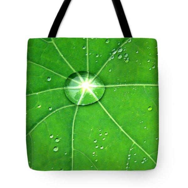 Raindrop Junction Tote Bag by Aidan Moran