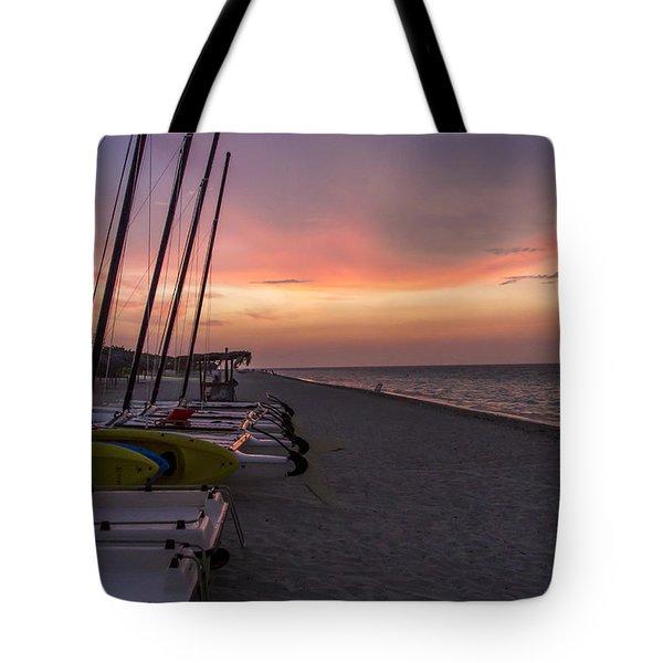 Rainstorm Sunset Portrait Tote Bag by Dan Panattoni
