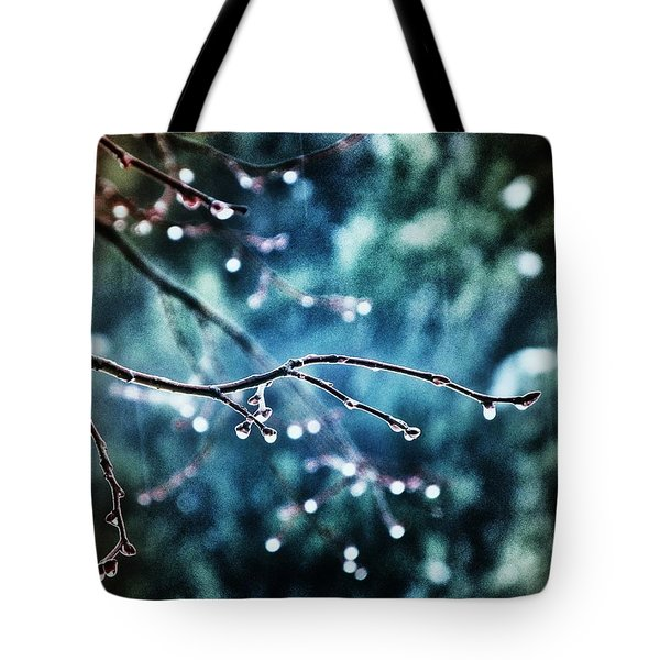 Rainy Day Tote Bag by Marianna Mills