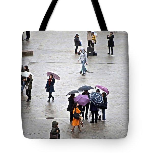 Rainy Day Tote Bag by Randi Shenkman