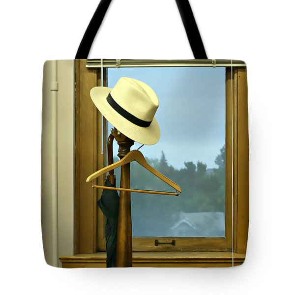 Rainy Morning Tote Bag by Nikolyn McDonald