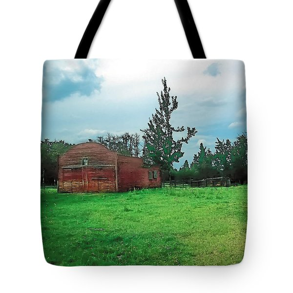 Rainy Pasture Tote Bag by Terry Reynoldson