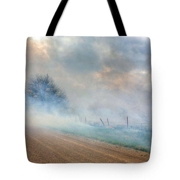 Range Burning Tote Bag by JC Findley