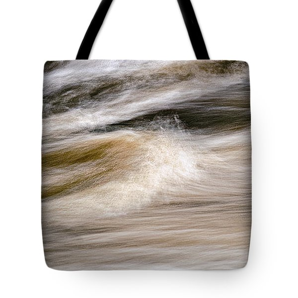 Rapids Tote Bag by Marty Saccone