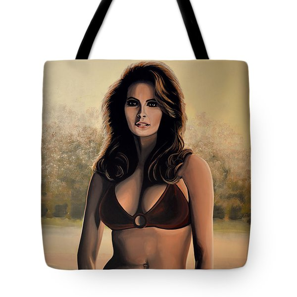 Raquel Welch 2 Tote Bag by Paul Meijering