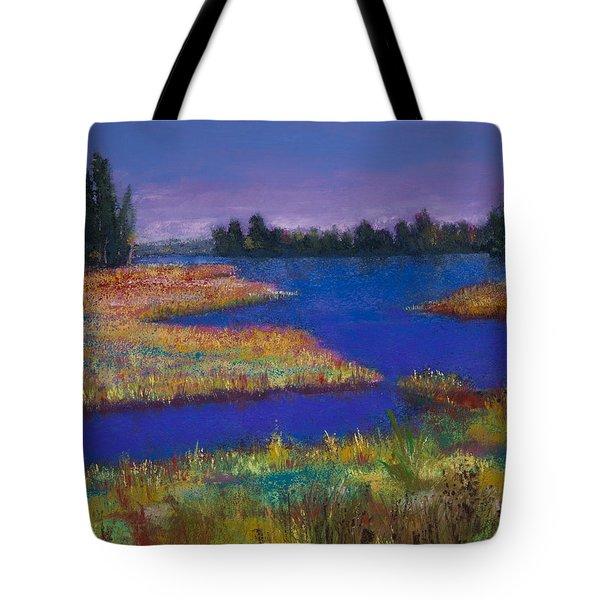 Raquette Lake Tote Bag by David Patterson