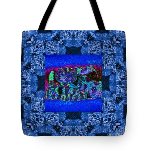 Rattlesnake Abstract Window 20130204m180 Tote Bag by Wingsdomain Art and Photography
