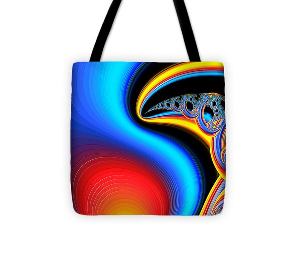 Raven Dreaming By The Fire Tote Bag by Wendy J St Christopher