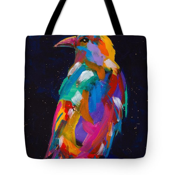Raven Dreams Tote Bag by Tracy Miller