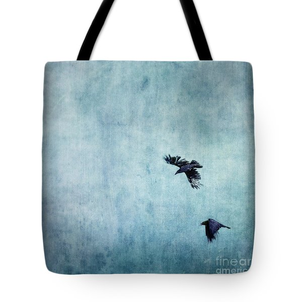 Ravens Flight Tote Bag by Priska Wettstein