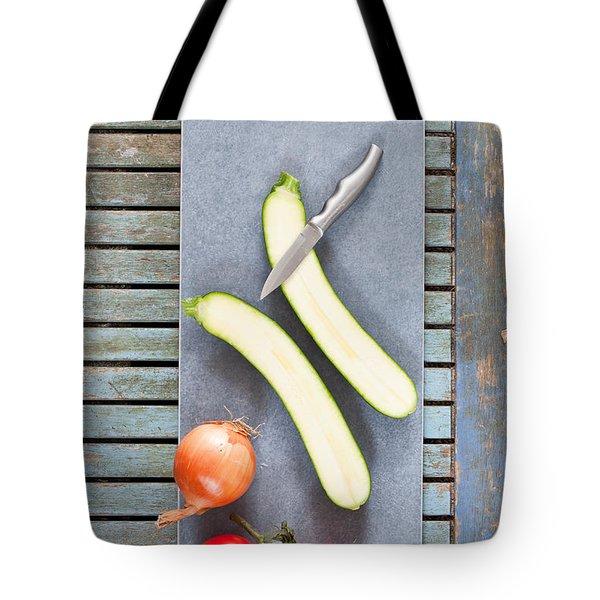 Raw Ingredients Tote Bag by Tom Gowanlock