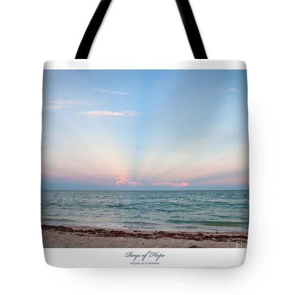 Rays of Hope Tote Bag by Michelle Wiarda