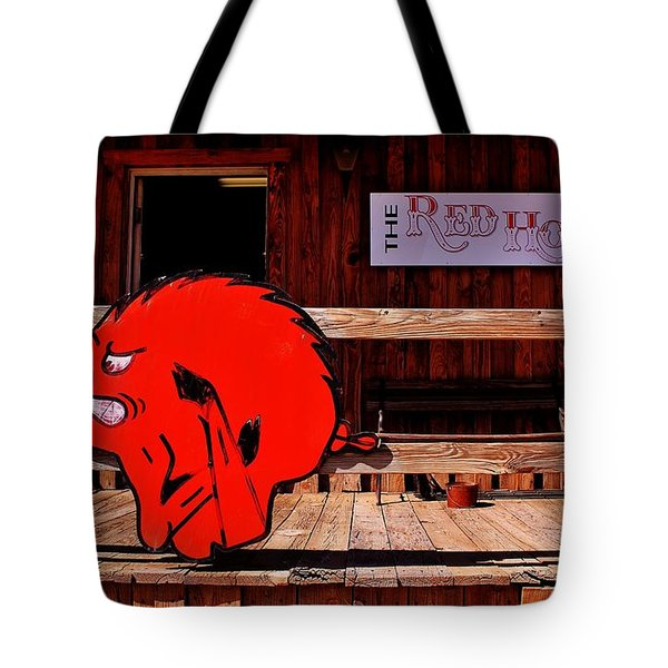 Razorback Country Tote Bag by Benjamin Yeager