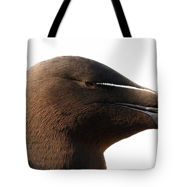 Razorbill Auk Tote Bag by Jeannette Hunt