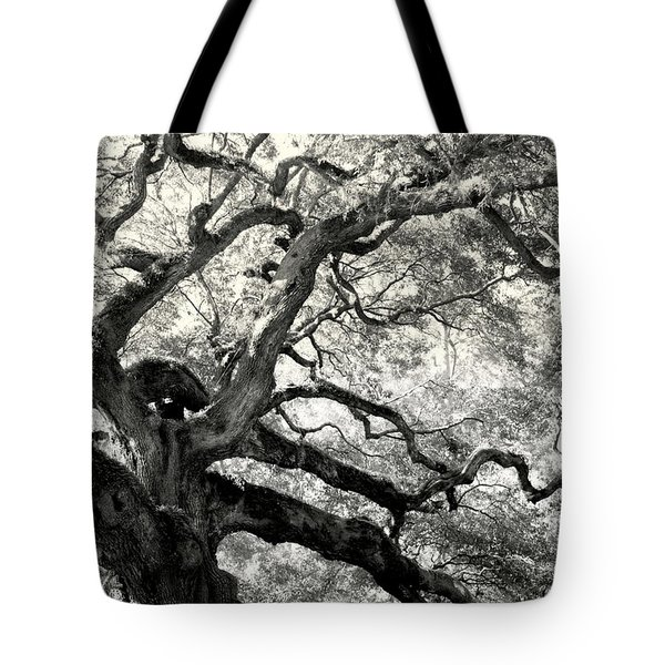 REACHING for HEAVEN Tote Bag by KAREN WILES