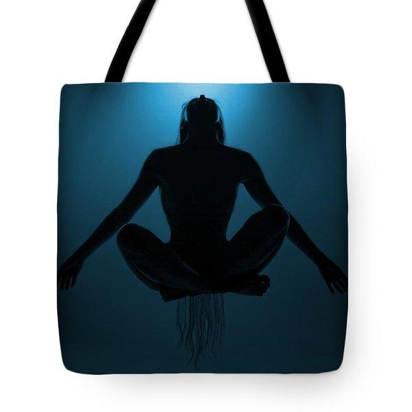 Reaching Nirvana.. Tote Bag by Nina Stavlund