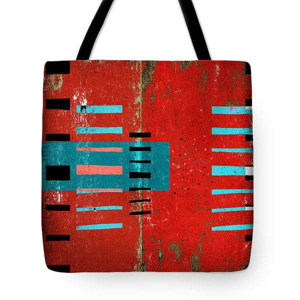 Reaching Out Tote Bag by Carol Leigh