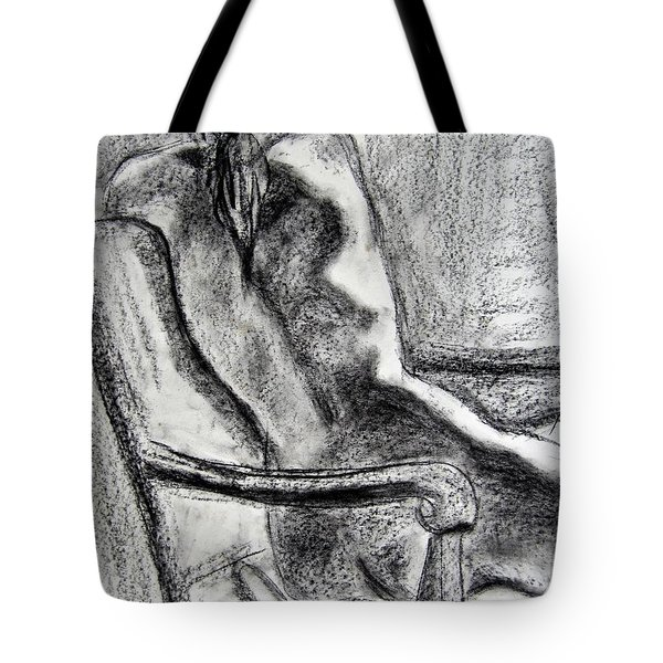Reaching Out Tote Bag by Kendall Kessler
