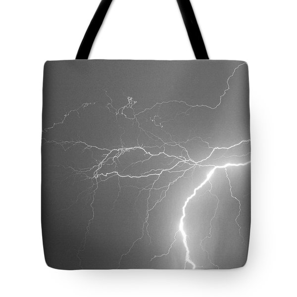 Reaching Out Touching Me Touching You Bw Tote Bag by James BO  Insogna