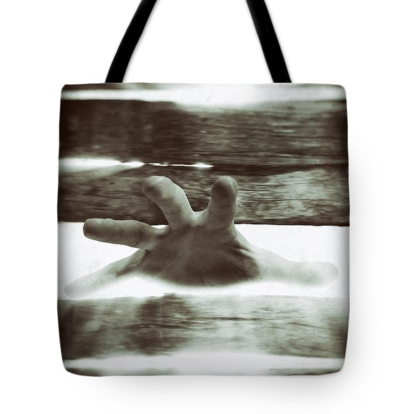 Reaching Out Tote Bag by Wim Lanclus