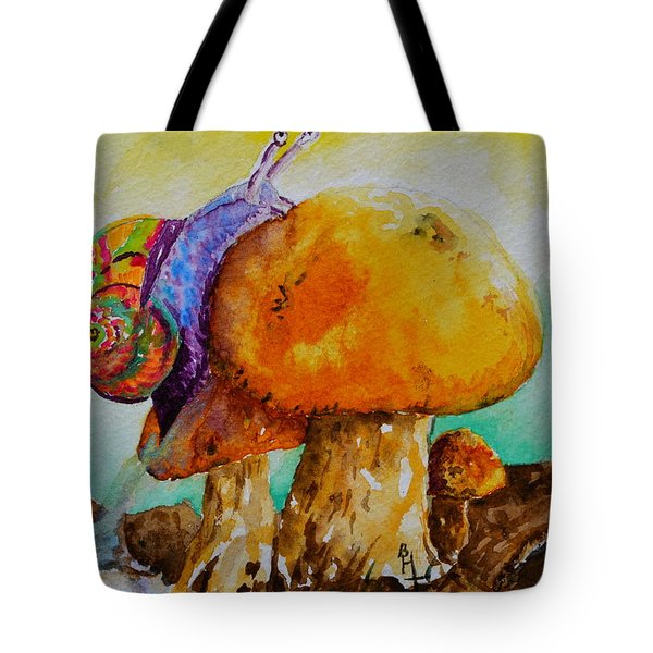 Reaching The Summit Tote Bag by Beverley Harper Tinsley