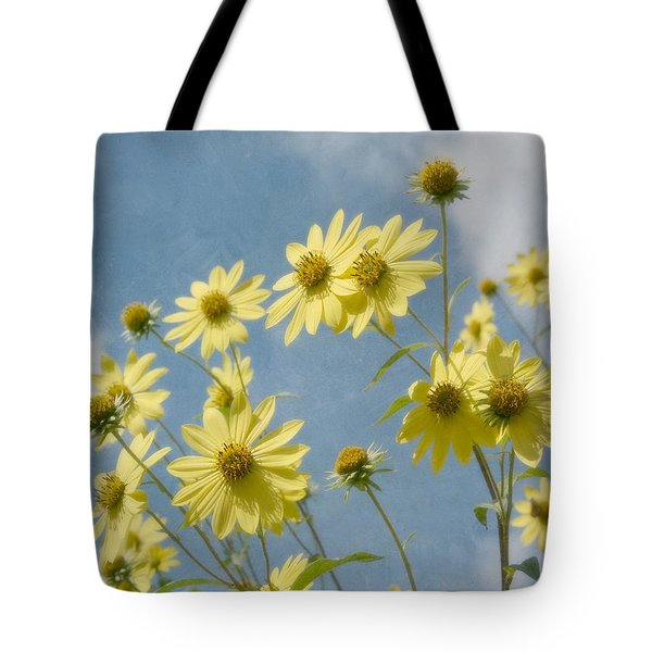 Reaching To The Sun Tote Bag by Kim Hojnacki