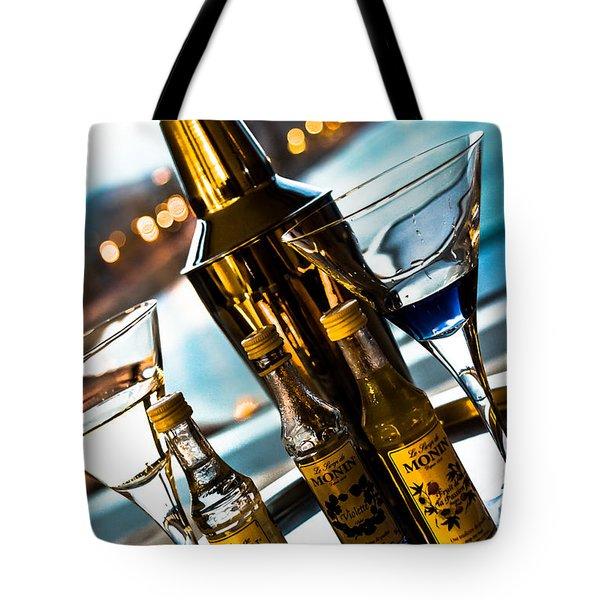 Ready For Drinks Tote Bag by Sotiris Filippou