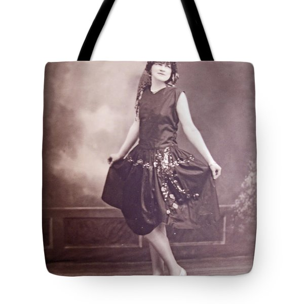 Ready For The Dance Tote Bag by Barbara McDevitt
